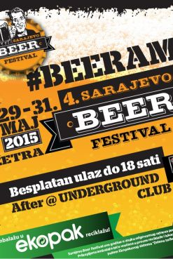 SARAJEVO BEER FESTIVAL in spirit of a responsible attitude towards the environment