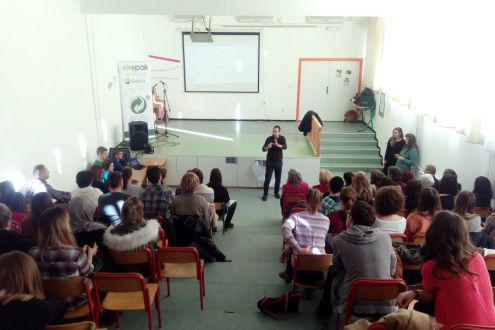 Young Eco Reporters project in Tuzla