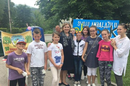 June 5th - World Environment Day celebrated with youth in Breza
