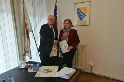 In the Municipality of Travnik today is signed an agreement on co-financing of the project