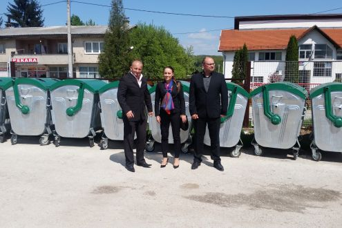 Establishment of 10 eco-islands in the municipality of Vitez