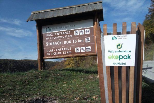 Posjetioci Nacionalnog parka Una i studenti Biotehničkog fakulteta u Bihaću će učestvovati u reciklaži ambalažnog otpada