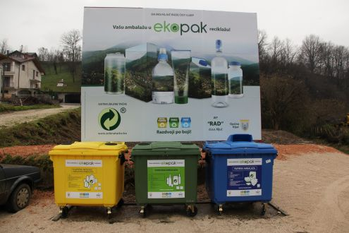The Ključ Municipality receives 45 containers and vehicle for separate collection of packaging Waste