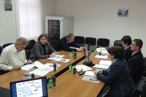 Discussion about  separate waste collection system establishing in the Kladanj Municipality