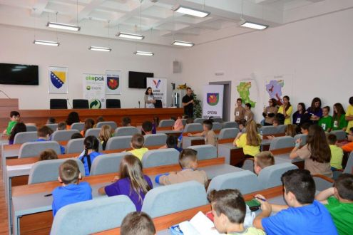 June 5 - World Environment Day celebrated with the children in Novi Travnik