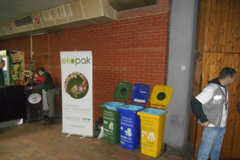 Ekopak Has Organized Separate Packaging Waste Collecting On the Zabranjeno pušenje Concerts in Tuzla and Sarajevo