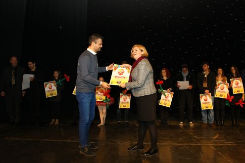 65th anniversary of the children's, youth and puppet stage of Bosnian National Theater Zenica-Ekopak assigned letter of thanks and