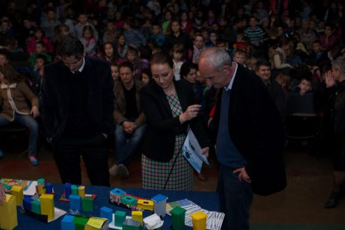 1.500 students in the municipality of Breza in the educational project