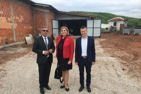 The Recycling Yard is put into service in Municipality of Kakanj
