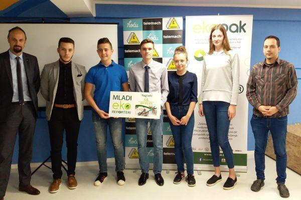 Uručene nagrade Mladim Eko Reporterima