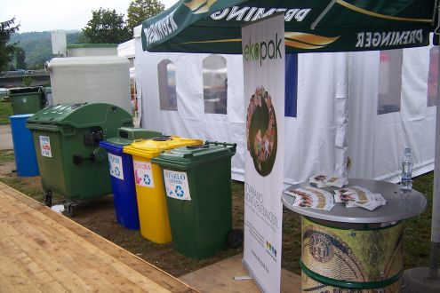 At the 11th International Eco Fair Ekobis in Bihać, Ekopak and Komrad Promoted the Separate Packaging Waste Collection Project in the Bihać Municipality