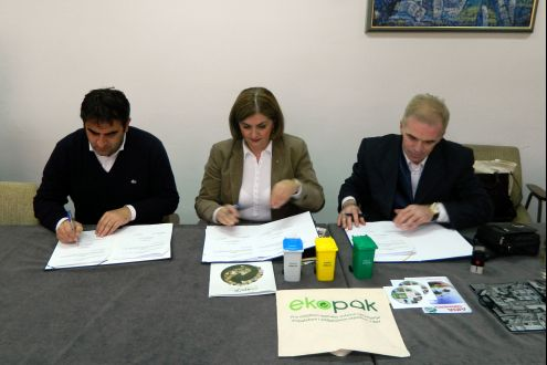 The first municipality in the Sarajevo Canton enters in the system of recycling and recovery of packaging waste
