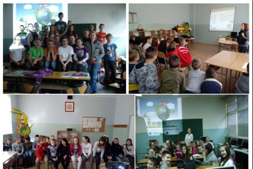 83 Educational Workshops were held and around 1.160 pupils participated