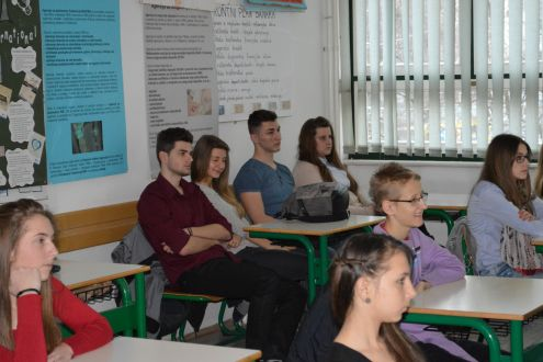 "Young Activists from Eco-Association from the Kladanj Municipality Visited Ekopak Anent Educational Project ""Planet's Smile is in Your Hands"" Initiation in the Municipality"
