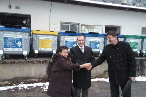 Eco Islands delivered to the Municipality of Travnik