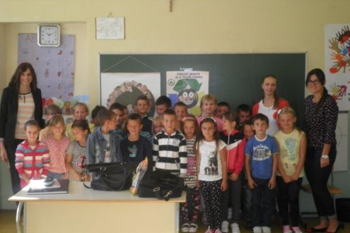 "Educational Project ""The Planet's Smile is in Your Hands"" is Successfully Being Implemented in the Municipality Prozor-Rama"