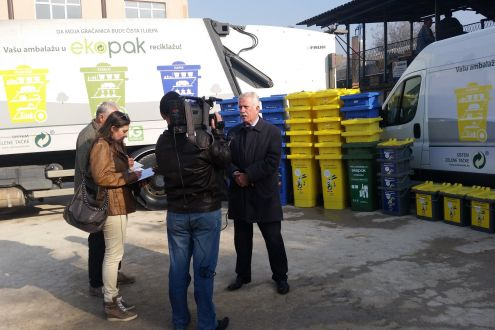 All educational institutions in the Municipality of Gracanica are enabled to participate in the recycling of packaging waste