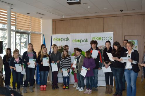 "In fourteen Sarajevo schools, the first part of the educational project the ""Planet's Smile is in Your Hands"" successfully finalized"