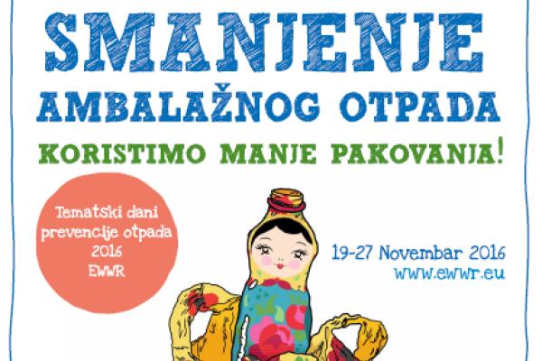 Obilježavanje Evropske sedmice za smanjenje otpada u Kantonu Sarajevo
