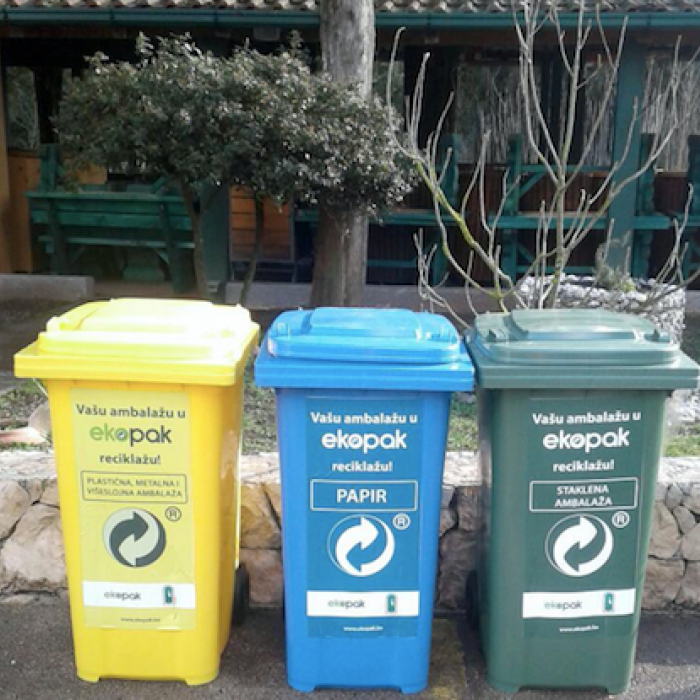 Hutovo blato in the system of disposal and recycling of packaging waste